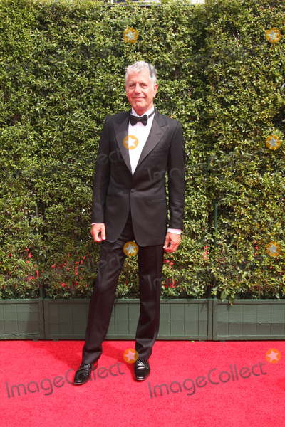 Anthony Bourdain Photo - Anthony Bourdainat the Primetime Creative Emmy Awards Arrivals Microsoft Theater Los Angeles CA 09-12-15