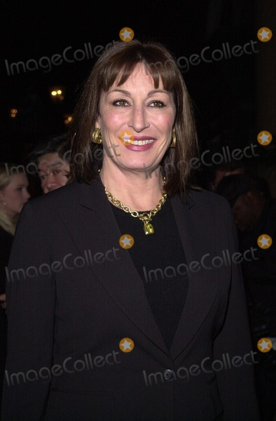 Angelica Huston Photo -  Angelica Huston at a benefit for the Council of the Library Foundations reading program for kids Beverly Hills 11-14-00