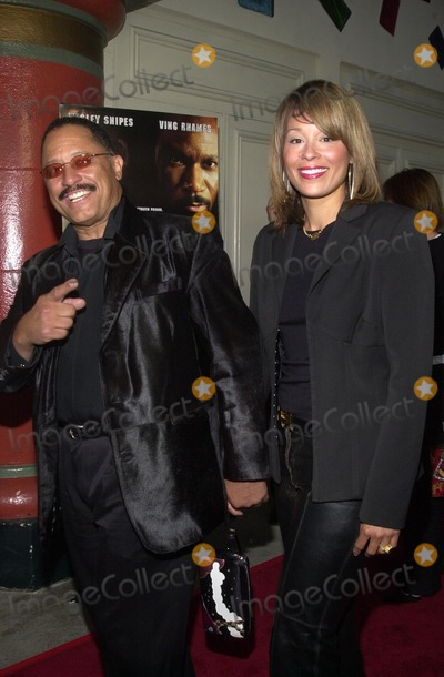 Judge Joe Brown Photo - Judge Joe Brown and wife at the premiere of Miramax Films Undisputed at Mann Festival Theater Westwood CA 08-21-02
