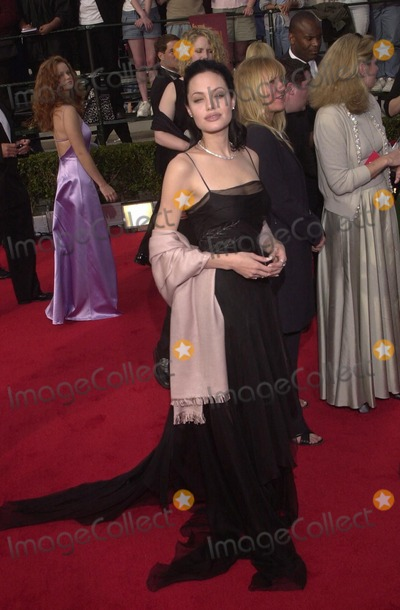 Angelina Jolie Photo -  Angelina Jolie at the 6th Annual Screen Actors Guild Awards Shrine Auditorium 03-12-00