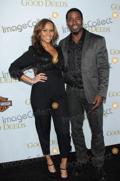 Kiki Haynes Photo - Kiki Haynes and Michael Jai Whiteat Tyler Perrys Good Deeds Los Angeles Premiere  Regal Cinemas Los Angeles CA 02-14-12