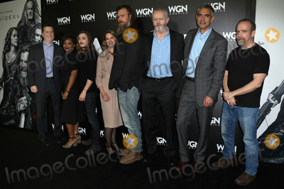 Kyle Gallner Photo - Paul Giamatti Kyle Gallner Francie Swift David Morse Ryan Hat a photo-op for WGN Americas Outsiders Langham Hotel Pasadena CA 01-13-17