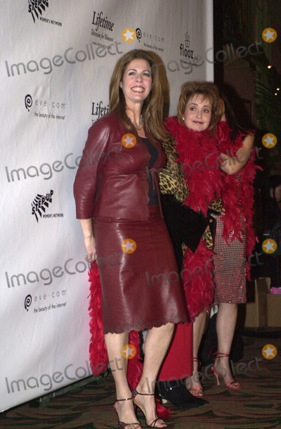 Annie Potts Photo -  Rita Wilson and Annie Potts at the opening of The Vagina Monologues benefitting V-Day Wiltern Theater 02-16-00