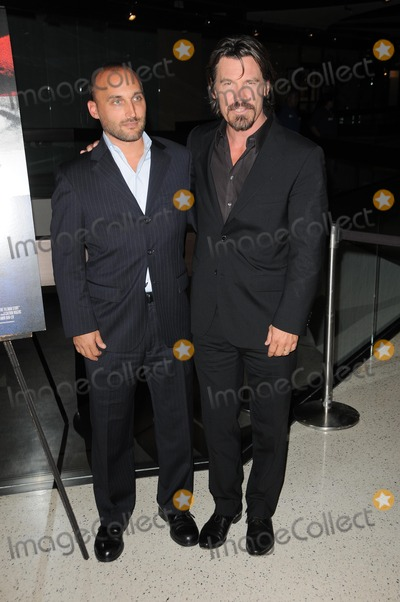 Amir Bar-Lev Photo - Amir Bar-Lev and Josh Brolinat The Tillman Story Screening Pacific Design Center West Hollywood CA 08-12-10
