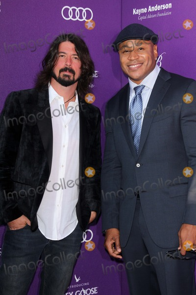 LL Cool J Photo - Dave Grohl LL Cool Jat the 2012 Chrysalis Butterfly Ball Private Location Los Angeles CA 06-09-12