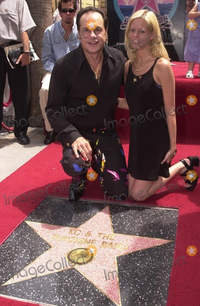 KC and the Sunshine Band Photo - Karry Wayne KC Casey and Family member at KC and The Sunshine Band induction ceremony into Hollywoods Walk of Fame Hollywood Blvd CA 08-02-02
