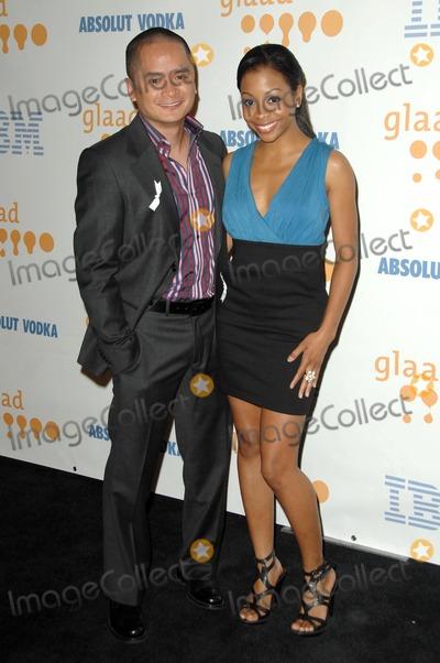Bresha Webb Photo - Rodney To and Bresha Webb at the 20th Annual GLAAD Media Awards Nokia Theatre Los Angeles CA 04-18-09
