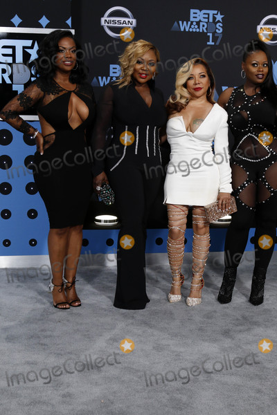 Tameka Cottle Photo - Kandi Burruss LaTocha Scott Tameka Cottle Tamika Scott Xscapeat the BET Awards 2017 Microsoft Theater Los Angeles CA 06-25-17
