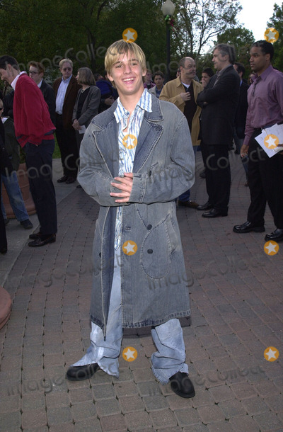 Aaron Carter Photo - Aaron Carter at the premiere of Paramount Pictures Jimmy Neutron held at Paramount Studios Hollywood 12-09-01