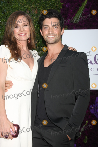 Alpay Photo - Rachel Boston David Alpayat the Hallmark 2015 TCA Summer Press Tour Party Private Residence Beverly Hills CA 07-29-15