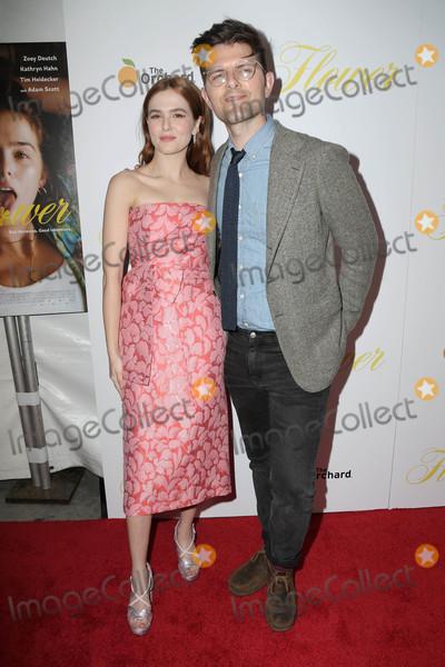 Adam Scott Photo - Zoey Deutch Adam Scottat the Flower Premiere Arclight Hollywood CA 03-13-18