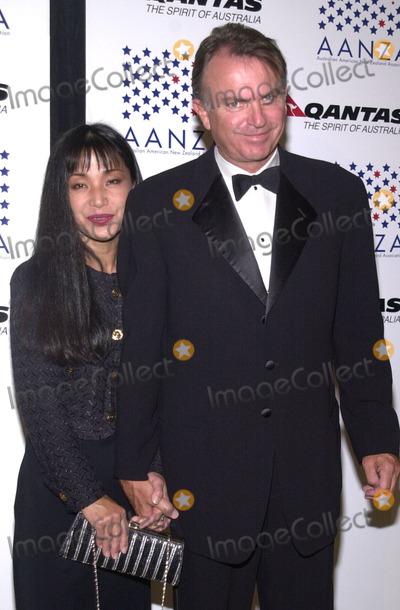 Sam Neill Photo - Sam Neill and wife Noriko at the Qantas Australia Day Ball St Regis Hotel Century City 01-26-02