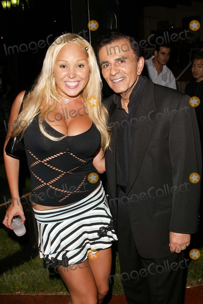 Casey Kasem Photo - Mary Carey and Casey Kasem at a birthday party for Kerri Kasem thrown by SiTv Brasserie Les Voyous Hollywood CA 07-21-04