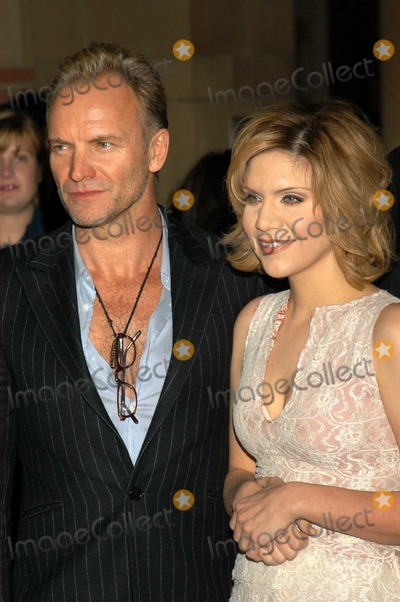 Alison Krauss Photo - Sting and Alison Krauss At a celebration of the words and music of Cold Mountain Royce Hall UCLA Los Angeles CA 12-08-03