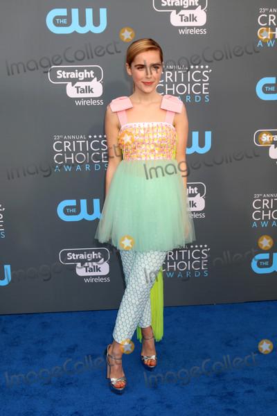 Kiernan Shipka Photo - Kiernan Shipkaat the 23rd Annual Critics Choice Awards Barker Hanger Santa Monica CA 01-11-18