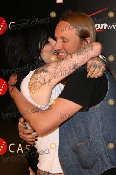Alex Orbi Orbison Photo - Kat Von D and Alex Orbi Orbison at the Verizon Wireless And People party honoring Grammy Nominee Timbaland Avalon Hollywood Hollywood CA 02-08-08