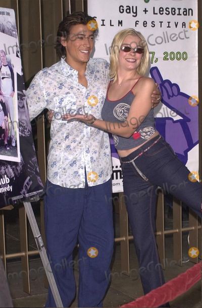 Andrew Keegan Photo -  Andrew Keegan and Leann Rimes at the premiere of Broken Hearts Club in Hollywood 07-17-00