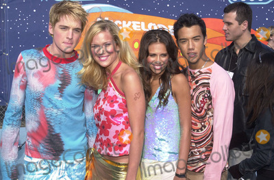 A-Teens Photo -  A-TEENS at Nickelodeons 14th Annual Kids Choice Awards Barker Hanger 04-21-01