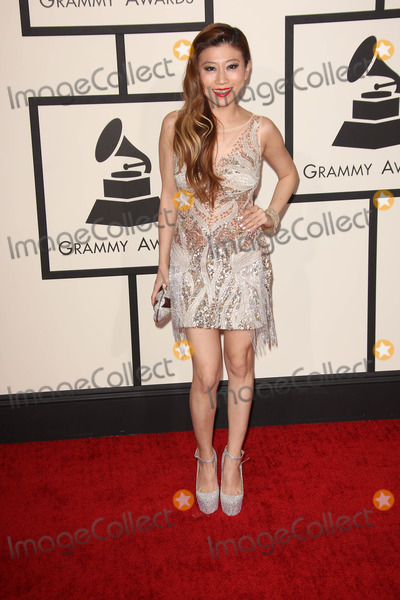Adrienne Lau Photo - Adrienne Lauat the 56th Annual Grammy Awards Staples Center Los Angeles CA 01-26-14