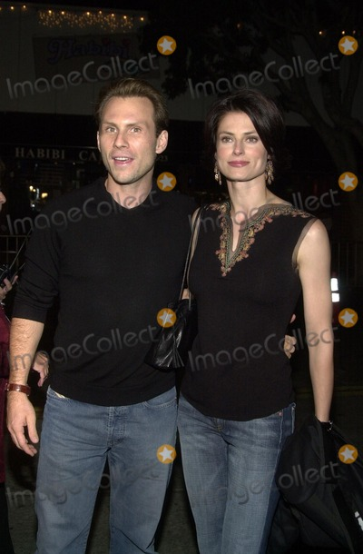 Ryan Haddon Photo - Christian Slater and wife Ryan Haddon at the premiere of Dreamworks The Ring at Mann Bruin Theater Westwood CA 10-09-02