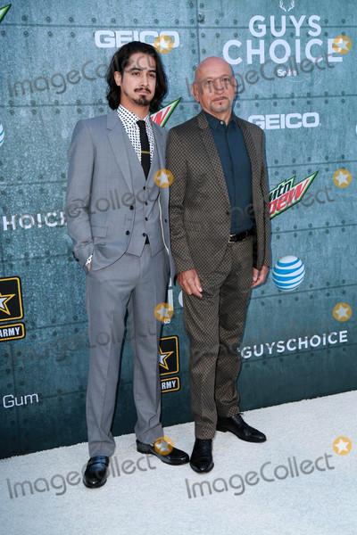 Avan Jogia Photo - Ben Kingsley Avan Jogiaat the Guys Choice Awards 2015 Sony Studios Culver City CA 06-06-15