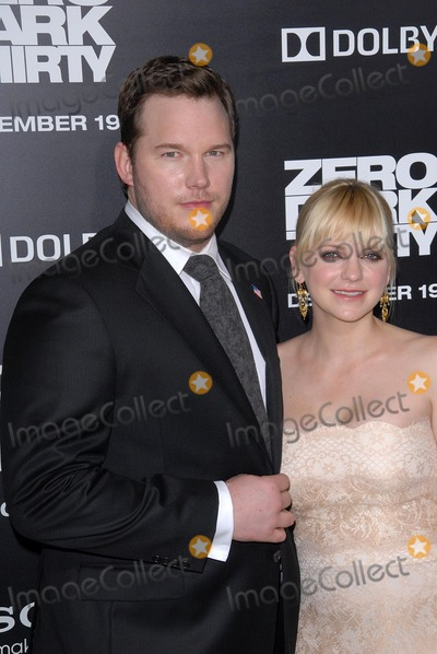 Anna Farris Photo - Chris Pratt Anna Farrisat the Zero Dark Thirty Los Angeles Premiere Dolby Theater Hollywood CA 12-10-12