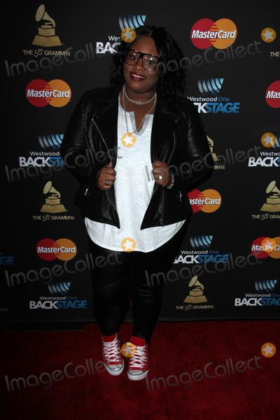Tasha Cobbs Photo - Tasha Cobbsat the 2016 Grammys Radio Row Day 2 presented by Westwood One Staples Center Los Angeles CA 02-13-16