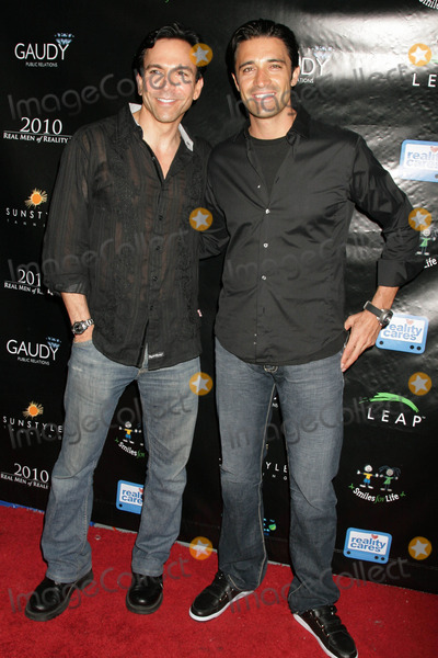 Todd Michael Krim Photo - Todd Michael Krim and Gilles Marini at the Reality Cares Leap Foundation Benefit Sunstyle Tanning Studio West Hollywood CA 08-06-09