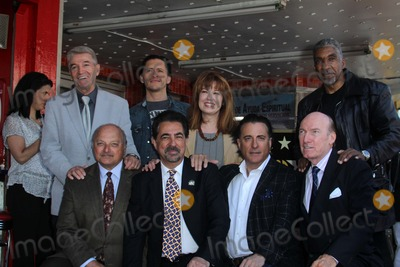 Lee Purcell Photo - Tom Dreesen Clifton Collins Jr Lee Purcel Stan Shaw Dennis Franz Joe Mantegna Andy Garcia Ed Lauterat Joe Mantegnas induction into the Hollywood Walk Of Fame Hollywood CA 04-29-11