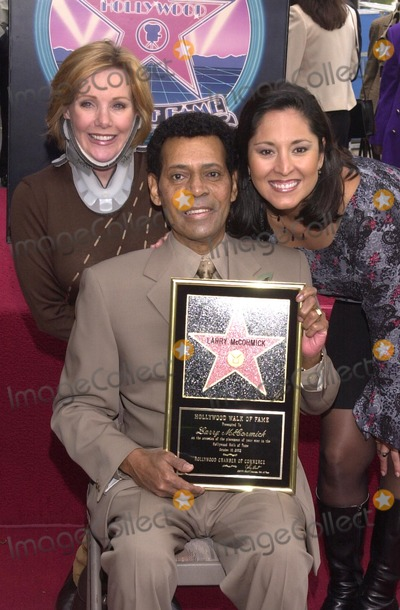 Larry McCormick Photo - Marta Waller Larry McCormick and Analia Sarno Riggle at McCormicks Star on the Walk of Fame ceremony Hollywood Blvd CA 10-01-02