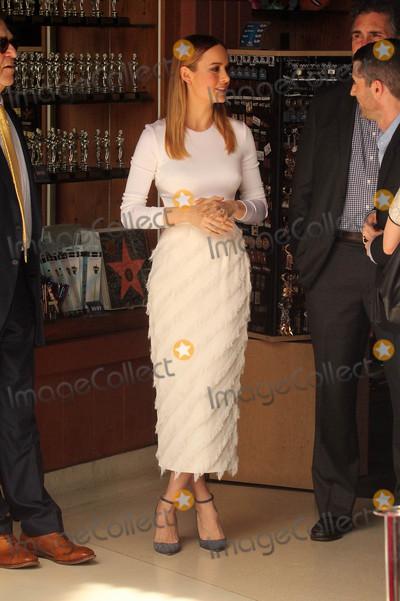 Brie Larson Photo - Brie Larsonat the John Goodman Star on the Hollywood Walk of Fame Hollywood CA 03-10-17
