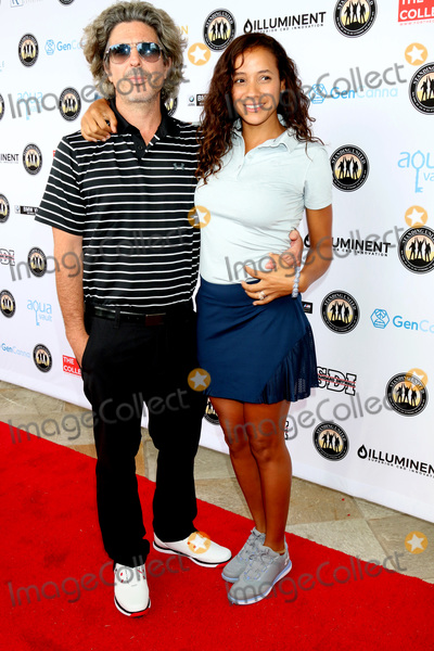Mike Tyson Photo - LOS ANGELES - AUG 2  Bev Land Dania Ramirez at the Mike Tyson Celebrity Golf Tournament at the Monarch Beach Resort on August 2 2019 in Dana Point CA