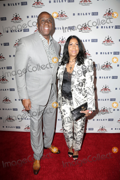 Magic Johnson Photo - LOS ANGELES - MAY 22  Magic Johnson Earvin Johnson Jr Cookie Johnson at the 10th Annual Big Fighters Big Cause Charity Boxing Night at the Beverly Hilton Hotel on May 22 2019 in Beverly Hills CA
