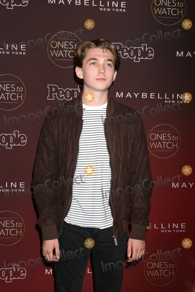 Austin Abrams Photo - LOS ANGELES - OCT 4  Austin Abrams_ at the Peoples Ones To Watch Party at the NeueHouse Hollywood on October 4 2017 in Los Angeles CA