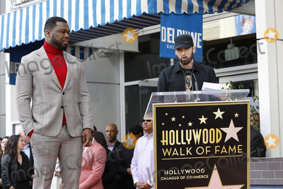 Curtis Jackson Photo - LOS ANGELES - JAN 30  Curtis Jackson 50 Cent Eminem Marshall Bruce Mathers III at the 50 Cent Star Ceremony on the Hollywood Walk of Fame on January 30 2019 in Los Angeles CA