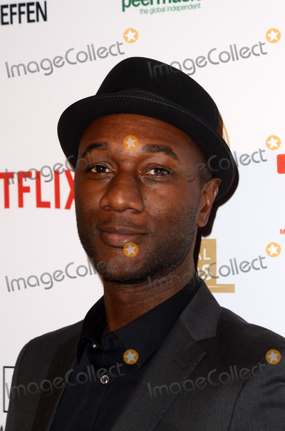 Aloe Blacc Photo - LOS ANGELES - FEB 8  Aloe Blacc at the Guild of Music Supervisors Awards at The Theatre at Ace Hotel on February 8 2018 in Los Angeles CA