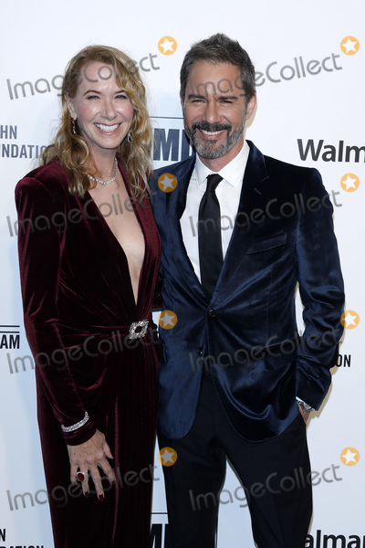 Elton John Photo - LOS ANGELES - FEB 9  Janet McCormack Eric McCormack at the 28th Elton John Aids Foundation Viewing Party at the West Hollywood Park on February 9 2020 in West Hollywood CA