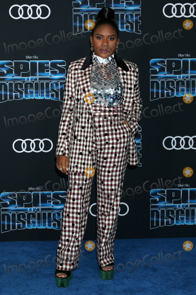 Trinitee Stokes Photo - LOS ANGELES - DEC 4  Trinitee Stokes at the Spies in Disguise Premiere at El Capitan Theater on December 4 2019 in Los Angeles CA