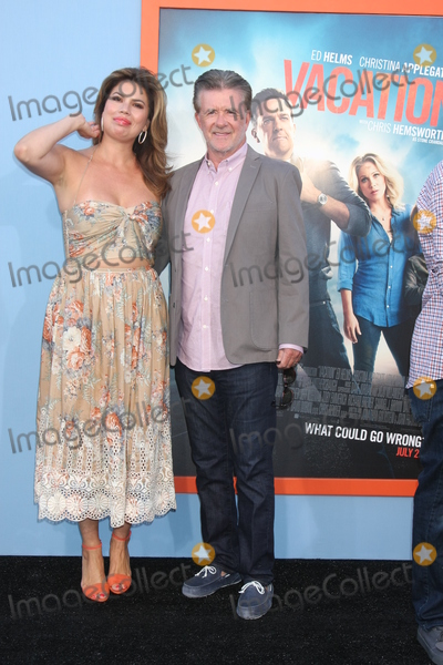 Alan Thicke Photo - LOS ANGELES - JUL 27  Tanya Callau Alan Thicke at the Vacation Premiere at the Village Theater on July 27 2015 in Westwood CA