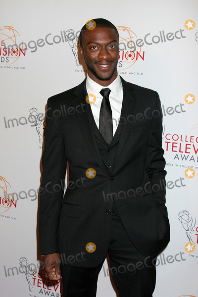 Aldis Hodge Photo - LOS ANGELES - APR 9  Aldis Hodge arriving at the 32nd Annual College Television Awards at Renaissance Hotel Hollywood  on April 9 2011 in Los Angeles CA