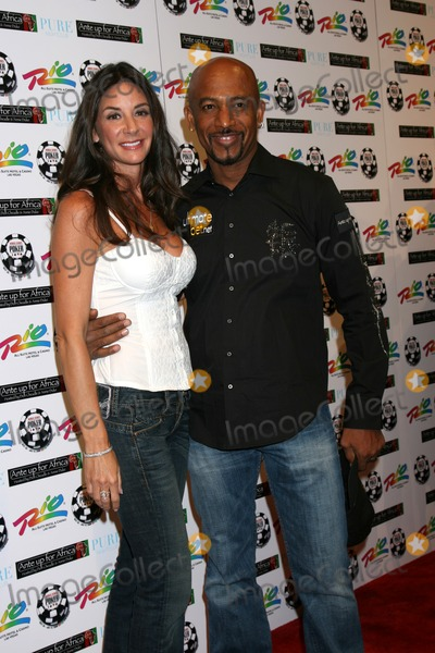 Montel Williams Photo - Montel WIlliams  wife   arriving at  the Ante up for Africa Poker Tournament at the 2008 World Series of Poker at the Rio All-Suite Hotel  Casino inLas Vegas NVJuly 2 2008