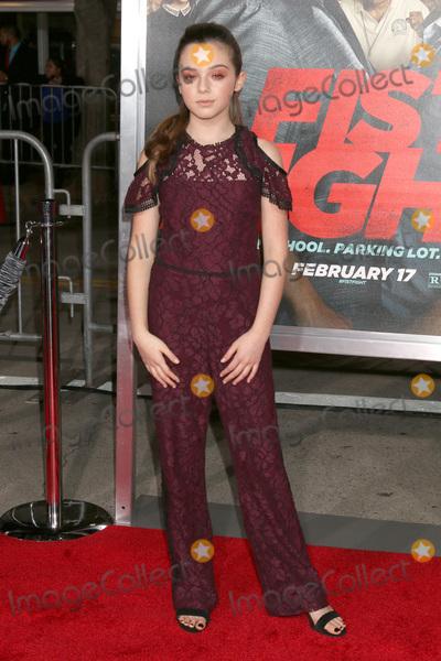 Alexa Nisenson Photo - LOS ANGELES - FEB 13  Alexa Nisenson at the Fist Fight Premiere at Village Theater on February 13 2017 in Westwood CA