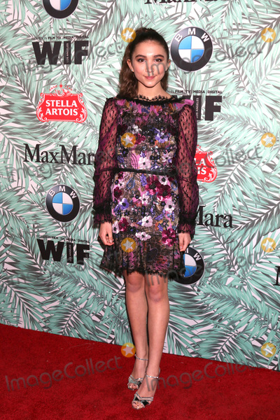 Rowan Blanchard Photo - LOS ANGELES - FEB 24  Rowan Blanchard at the 10th Annual Women in Film Pre-Oscar Cocktail Party at Nightingale Plaza on February 24 2017 in Los Angeles CA