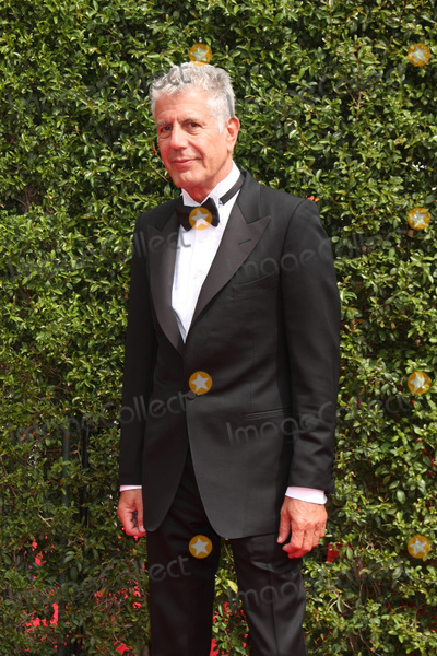 Anthony Bourdain Photo - LOS ANGELES - SEP 12  Anthony Bourdain at the Primetime Creative Emmy Awards Arrivals at the Microsoft Theater on September 12 2015 in Los Angeles CA