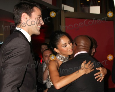 ANTONIO REID Photo - LOS ANGELES - SEP 14  Steve Jones Nicole Scherzinger Antonio Reid arriving at the X-Factor Premiere Screening at ArcLight Theater on September 14 2011 in Los Angeles CA