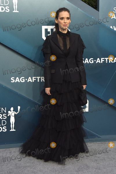 Winona Ryder Photo - LOS ANGELES - JAN 19  Winona Ryder at the 26th Screen Actors Guild Awards at the Shrine Auditorium on January 19 2020 in Los Angeles CA