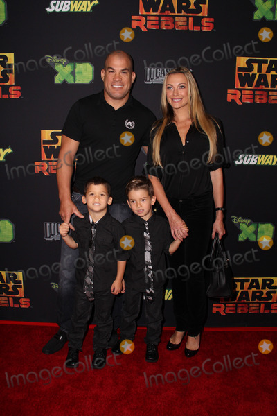 Amber Miller Photo - LOS ANGELES - SEP 27  Tito Ortiz Amber Miller at the Star Wars Rebels Premiere Screening at AMC Century City on September 27 2014 in Century City CA