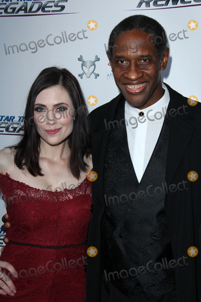 Adrienne Wilkinson Photo - LOS ANGELES - AUG 1  Adrienne Wilkinson Tim Russ at the Star Trek Renegades Premiere at the Crest Theater on August 1 2015 in Westwood CA