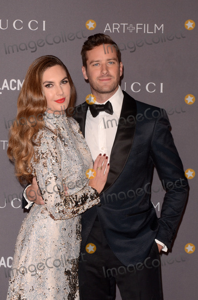 Armie Hammer Photo - LOS ANGELES - NOV 4  Elizabeth Chambers Armie Hammer at the LACMA Art and Film Gala at the Los Angeles County Musem of Art on November 4 2017 in Los Angeles CA