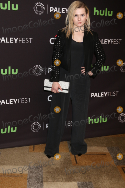 Abigail Breslin Photo - LOS ANGELES - MAR 12  Abigail Breslin at the PaleyFest Los Angeles - Scream Queens at the Dolby Theater on March 12 2016 in Los Angeles CA